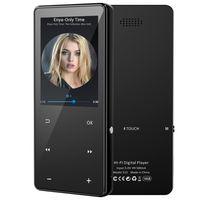 MP3-Player mit Bluetooth 5.0, 2,4-Zoll-Großbild-Musik-Player hoher Auflösung und Voll-Touchscreen, Unterstützung von bis zu 128 GB