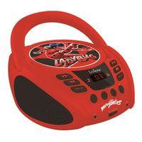 Lexibook Miraculous Radio-Recorder, MP3-Wiedergabe