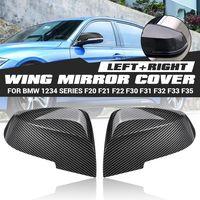 2x Aussenspiegel Spiegelkappe Abdeckung ABS Für BMW F20 F21 F22 F30 F31 F32 F35