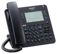 "Panasonic KX-NT630NE-B - IP-Desktop-Phone (3.6"" Monochrom LC-Display  6x4 Self-Labeling  Headset-Ans"