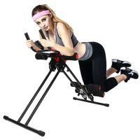 WYCTIN Bauchtrainer Bauchmuskeltrainer Muskeltrainer Rückentrainer Fitness Shaper schwarz/rot