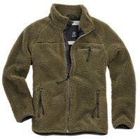 Brandit Jacke Teddyfleece Jacket in Olive-XXL