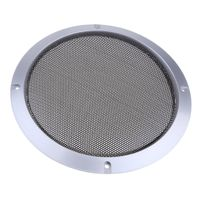 8-Zoll-Lautsprecher grillt Abdeckung mit Schrauben Silber