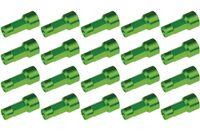 Radmuttern 19 mm grün 20 Stück
