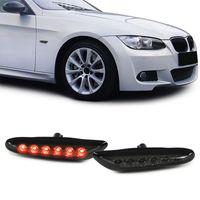 LED Seitenblinker schwarz smoke für BMW 1er E81 E82 E87 3er E90 E91 E92 X1 E84