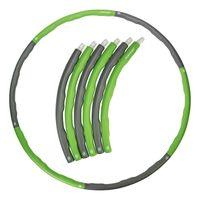 Hula-Hoop-Reifen mit Gewicht, 1,2 kg 1,5 kg 1,8 kg, Hulahoopreifen für Erwachsene mit Noppen, kg:1.2