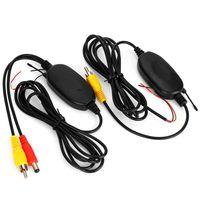 2.4GHZ Funk RCA Kabellos Transmitter Sender Empfänger Receiver Wireless für Auto Rückfahrkamera