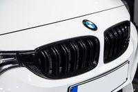 Für BMW F30 F31 PREMIUM Kühlergrill Sport Grill Gitter Schwarz in Glanz