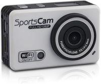 Action-Kamera Cam Full HD 1080p WiFi Smartphone Unterstützung Aktion Kamera Smartphone Unterstützung 120° Ultra Weitwinkel mit wasserdichtem Gehäuse Sport Cam mit 5MP Camera Ultra viel Zubehör
