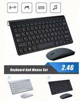 Dünne Kabellose Tastatur und Maus Set 2,4 GHz Funkmaus mit Wireless Keyboard
