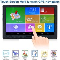 7 Zoll LKW Auto GPS Navigationssystem 512M 8GB Kostenlose EU Karte Android