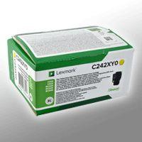 Lexmark C242XY0 - 3500 Seiten - Gelb - 1 Stück(e)