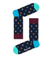Happy Socks Snow Sock, Farbe:Schwarz, Größe:41-46