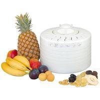 CLATRONIC Dörrautomat DR 2751 Dörrer Obsttrockner Dörrgerät Obst- Gemüsedörrer