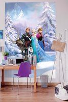 """Komar Fototapete """"Frozen Winter Land"""", bunt, 184 x 254 cm"""