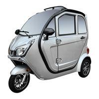 E-Kabinenfahrzeug 3-Rad eLizzy Premium 25 km/h - mit Vor-Ort-Einweisung