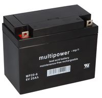 Multipower Blei-Akku MP20-6 Pb 6V 20Ah M5