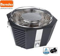 Berndes 501961 rauchfreier Holzkohlegrill, schwarz, 39,5 x 38 x 23,5cm, Kohlegrill Grill Smokeless , tragbar