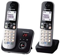 Panasonic KX-TG6822GB Duo Schnurlostelefon mit AB + 2. Mobilteil