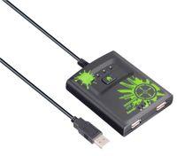"""Hama """"Speedshot Lite"""" Mouse/Keyboard Converter - Tastatur-/Mausadapter für Spielkonsole - USB Typ A, 4-polig (M) - USB Typ A, 4-polig (W) - Schwarz - für Xbox 360"""