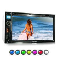 XOMAX XM-2D6913 2DIN Autoradio mit DVD-/CD-Laufwerk, SD, USB und BLUETOOTH
