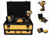 DeWalt DCF 887 P1TX Akku Schlagschrauber 18 V 205 Nm 1/4' Brushless + 1x Akku 5,0 Ah + Ladegerät + TX Koffer