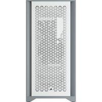 Corsair Computer Case 4000D Seitenfenster, Weiß, ATX, Netzteil im Lieferumfang enthalten Nein
