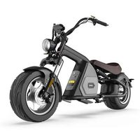 E-Roller 45Km/h Elektroroller Mr. Harley C80-45 Chopper schwarz