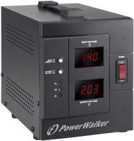 Bluewalker AVR 1500/SIV - 230 V - 50/60 Hz - 1500 VA - 1200 W - 2 AC-Ausgänge - Typ F