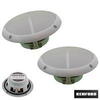 2 Stück Kenford Marine Einbaulautsprecher 130mm wetterfest Lautsprecher Paar(362