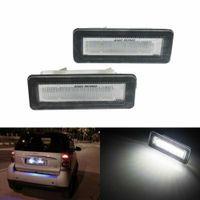 2X LED Kennzeichenbeleuchtung Kennzeichen Leuchte für Smart Fortwo Cabrio Coupe 451 2007-15 A4518200156, A4518200256