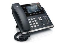 Yealink SIP-T46G Telefon, Farbdisplay, Rufnummernanzeige, Freisprechfunktion, Bluetooth, Ethernet, USB-Anschluss