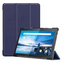 Schutzhülle für Lenovo Tab M10 TB-X605F 10.1 Zoll Slim Case Etui mit Standfunktion und Auto Sleep/Wake Funktion Blau