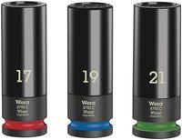 Wera Steckschlüsseleinsatz-Satz, 1/2'-Antrieb Wheel Impaktor C Set 1 , 3-teilig 05004595001