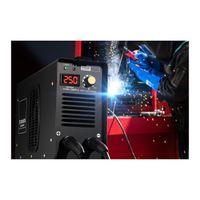 Stamos Elektroden Schweißgerät - 250 A - 8 Meter Kabel - Hot Start - PRO