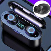 TWS In Ear Kopfhörer Bluetooth 5.0 Kabellos Ohrhöhrer Sport Headset Mit Powerbank