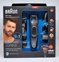 Braun MGK 3080 Multigroomer 9-in-1 Bartschneider inkl. Gillette Flexball