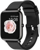 Smartwatch, Fitness Tracker mit Blutdruckmessung Fitness Armbanduhr mit Pulsuhr Schlafmonitor für Android und iOS Smart Watch für Damen Herren