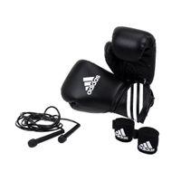 adidas Boxing Set Kit 3tlg. mit Springseil schwarz-weiß, adiBPKIT04