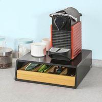 SoBuy Kapselständer für nespresso Kapselhalter 30x10x31cm FRG280-SCH
