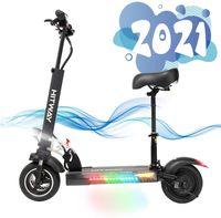 ElektroScooter mit 45Km/h 800W Motor 45km/h 10Ah Erwachsen, Elektro Scooter Faltbarer Elektroroller Für Erwachsene E Scooter