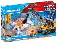 PLAYMOBIL City Action 70442 Seilbagger mit Bauteil