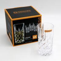Nachtmann 0089208-0 Noblesse Longdrinkbecher, 375 ml, 14,8 cm, klar (4er Pack)