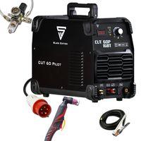 STAHLWERK CUT 60 Pilot IGBT Plasmaschneider mit 60 Ampere und Pilotzündung, bis 24mm Schneidleistung