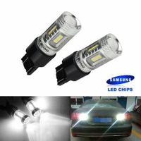 2X 7440 7443 W21W W21/5W T20 15W LED Tagfahrlicht Bremslicht Rücklicht Lampen