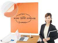 Whiteboardfolie 60 x 300 cm orange