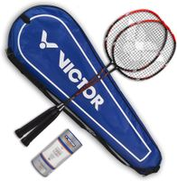 Vicfun Badminton Set A FamilyBadmintonset Badmintonschläger Badmintonbälle