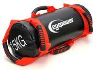 3,75-15 kg Power Bag 18x50 Sand Gewichtssack Sandbag Core Training Sandsack Rot