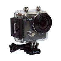 Rollei Action CAM 400 3 Megapixel Full HD Action-Kamera, 5,08 cm (2 Zoll) Display, CMOS-Sensor, HDMI, USB, WLAN, Speicherkarte, Smartphone-Steuerung