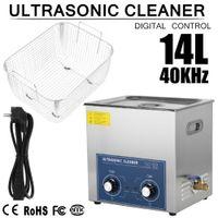 14L Ultraschallreiniger Reinigungsgerät Ultraschallreinigungsgerät Leistung 300W Timer 0-30min Ultrasonic Cleaner mit Korb